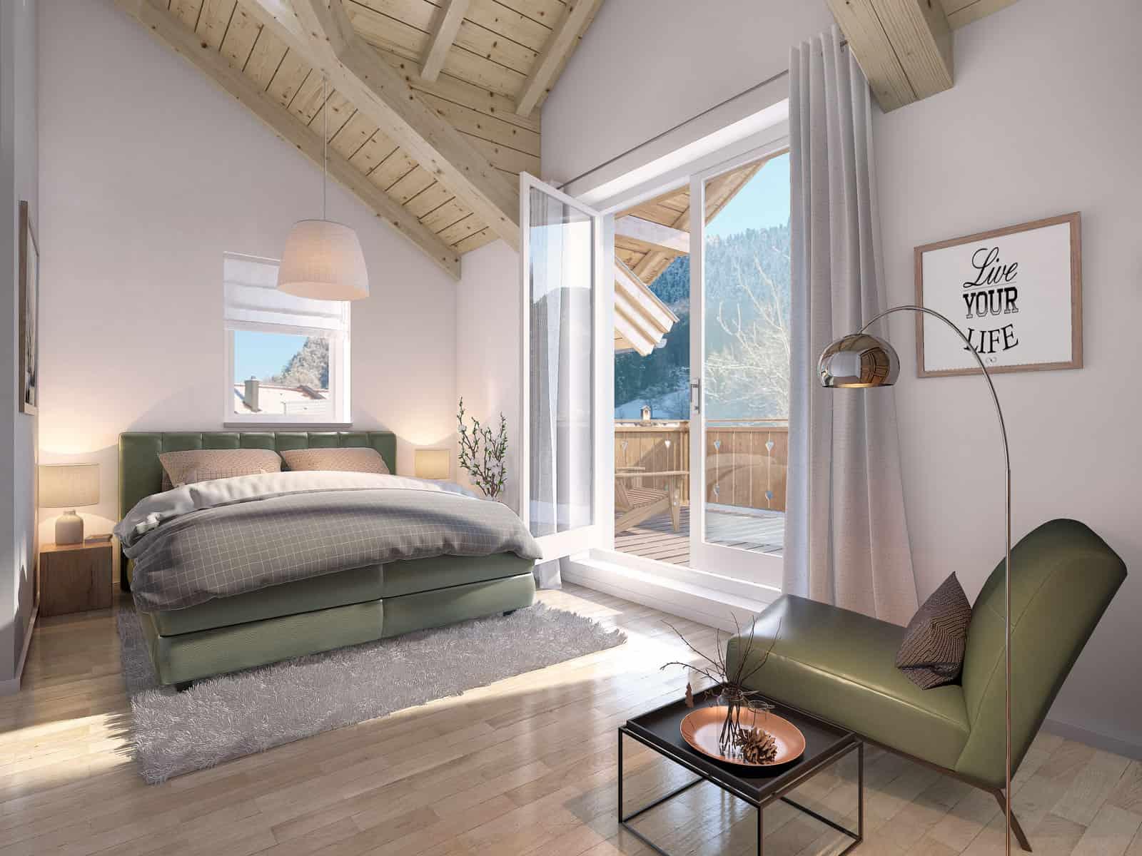 08 koopwoningen-oostenrijk-project-dreilaendereck-panorama-slaapkamer